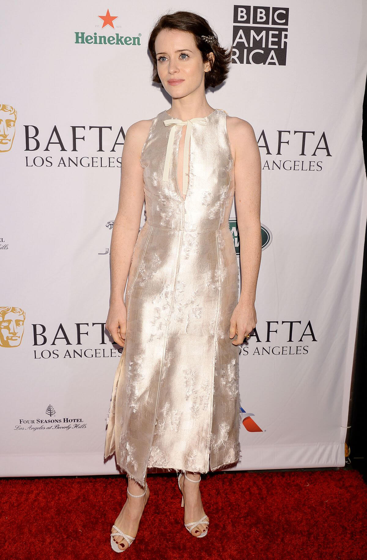 Claire Foy at Bafta Tea Party in Los Angeles 2019/01/05 1