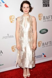 Claire Foy at Bafta Tea Party in Los Angeles 2019/01/05 2