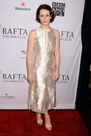 Claire Foy at Bafta Tea Party in Los Angeles 2019/01/05 6
