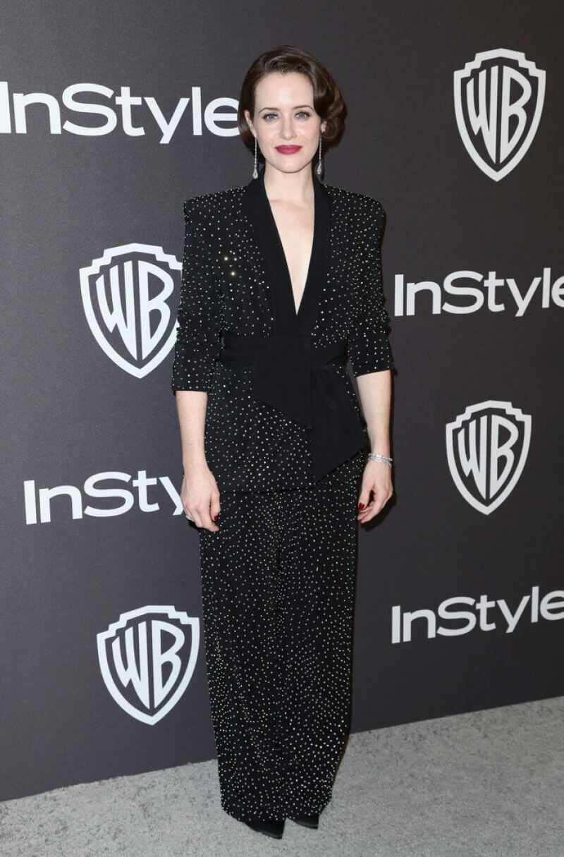 Claire Foy at Instyle and Warner Bros Golden Globe Awards Afterparty in Beverly Hills 2019/01/06 1
