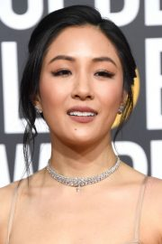Constance Wu at 2019 Golden Globe Awards in Beverly Hills 2019/01/06 11