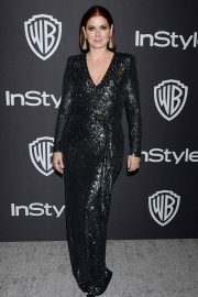 Debra Messing at Instyle and Warner Bros Golden Globe Awards Afterparty in Beverly Hills 2019/01/06 2