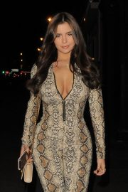 Demi Rose Mawby Night Out in London 2018/12/30 2