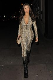 Demi Rose Mawby Night Out in London 2018/12/30 5
