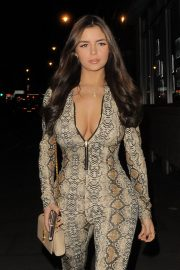 Demi Rose Mawby Night Out in London 2018/12/30 7