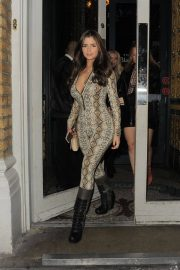 Demi Rose Mawby Night Out in London 2018/12/30 8