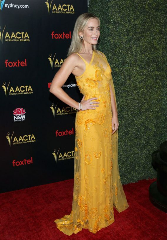 Emily Blunt at 2019 AACTA International Awards in Los Angeles 2019/01/04 1