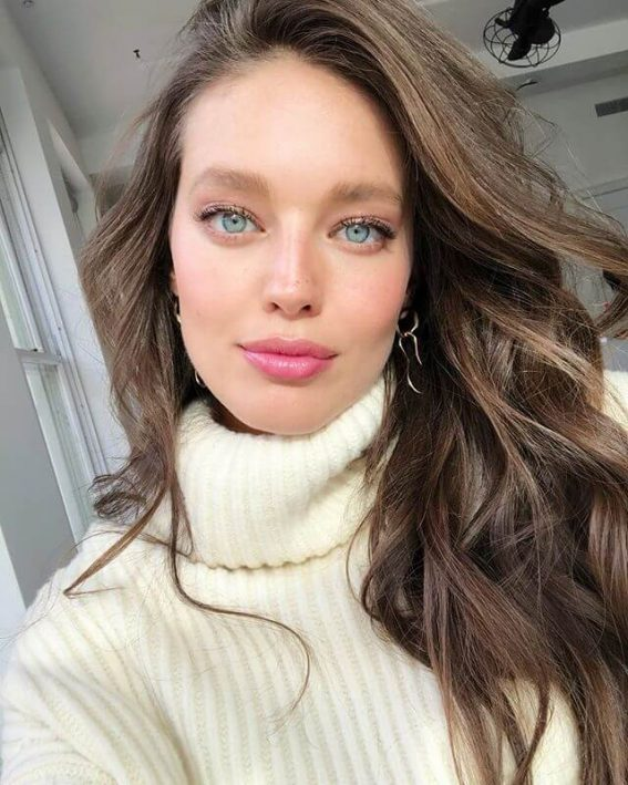 Emily DiDonato in chunky sweaters and pink lips - January 29, 2019 1