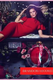 Emily DiDonato in Red Outfit for Spring/Summer 2019 campaign - January 24, 2019 1