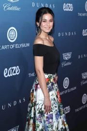 Emmanuelle Chriqui at Art of Elysium's 12th Annual Celebration in Los Angeles 2019/01/05 2