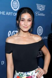 Emmanuelle Chriqui at Art of Elysium's 12th Annual Celebration in Los Angeles 2019/01/05 3
