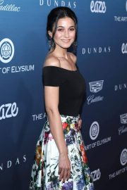 Emmanuelle Chriqui at Art of Elysium's 12th Annual Celebration in Los Angeles 2019/01/05 5