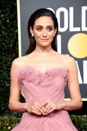 Emmy Rossum at 2019 Golden Globe Awards in Beverly Hills 2019/01/06 2
