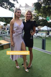Eugenie Bouchard at ASB Classic Players Party in Auckland 2018/12/30 1