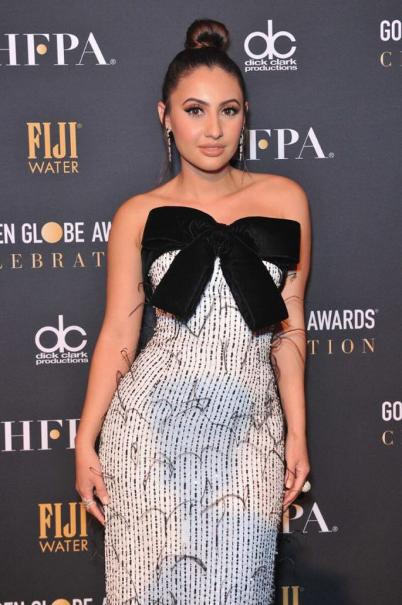 Francia Raisa at Golden Globe Awards Official After Party in Beverly Hills 2019/01/06 1