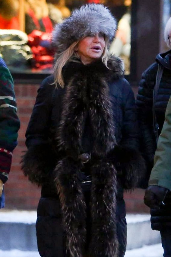 Goldie Hawn and Kurt Russell Out and About in Aspen 2019/01/01 1