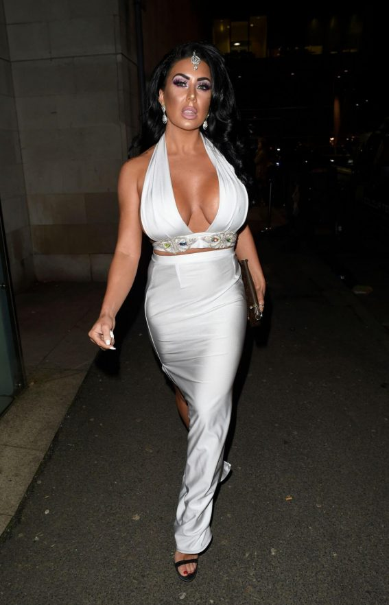 Grace J Teal at New Years Eve in Manchester 2018/12/31 1