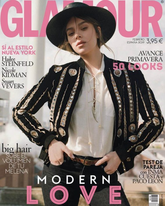 Hailee Steinfeld for Glamour Spain Magazine Cover Photoshoot, February 2019 Issue 1