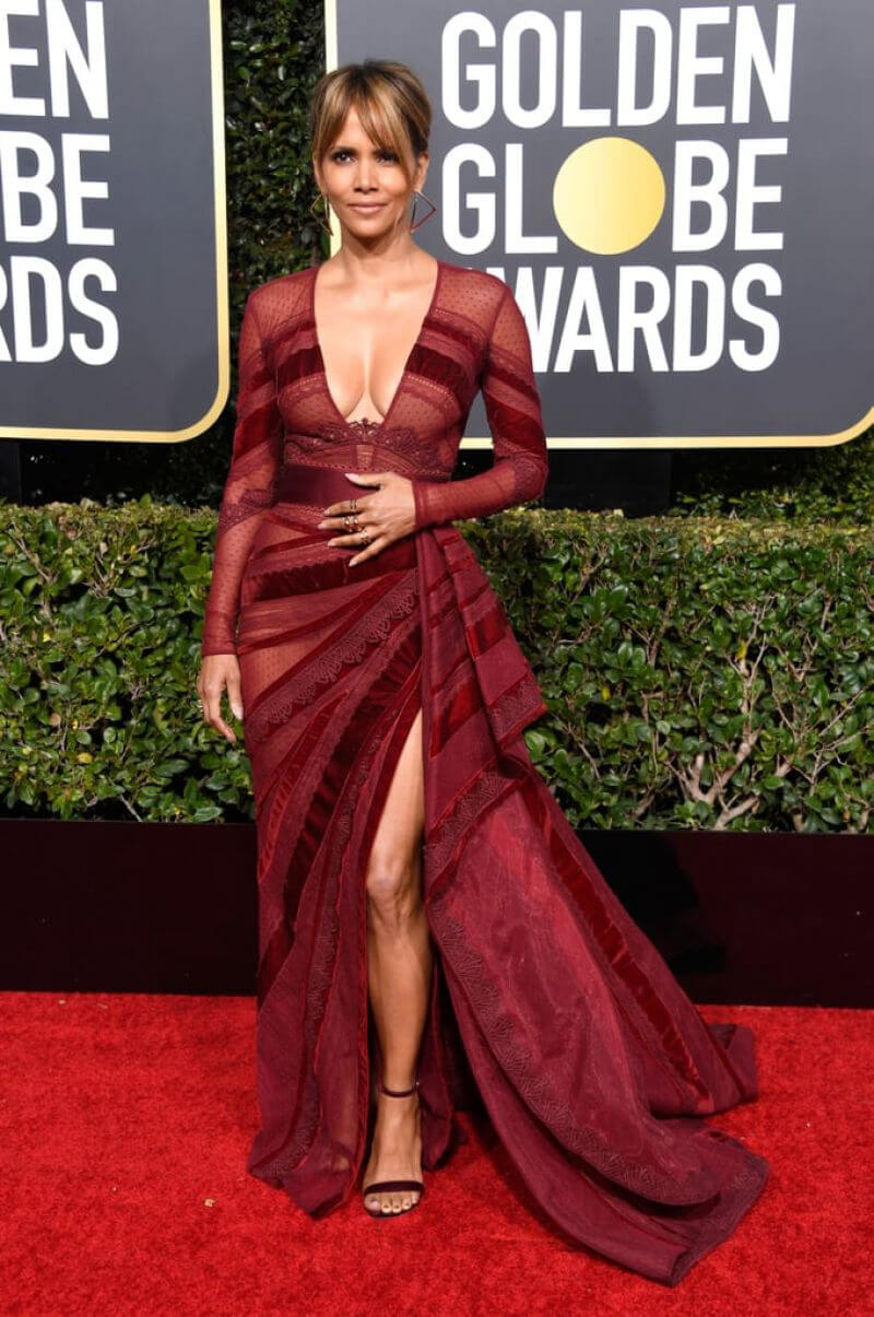 Halle Berry at 2019 Golden Globe Awards in Beverly Hills 2019/01/06 1