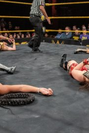 Io Shirai vs. Mia Yim vs. Bianca Belair vs. Lacey Evans - Fatal 4-Way Match: WWE NXT 2018/12/26 7