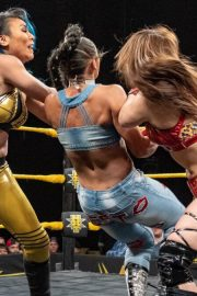Io Shirai vs. Mia Yim vs. Bianca Belair vs. Lacey Evans - Fatal 4-Way Match: WWE NXT 2018/12/26 15