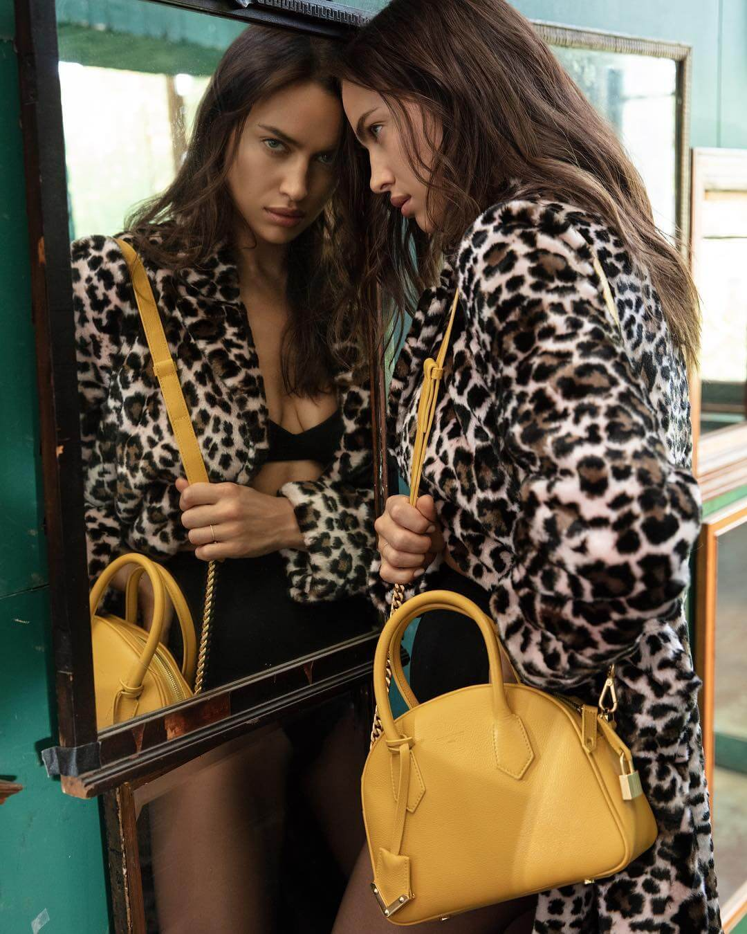 Irina Shayk in The Kooples Outfit Photoshoot on September 19, 2018 1