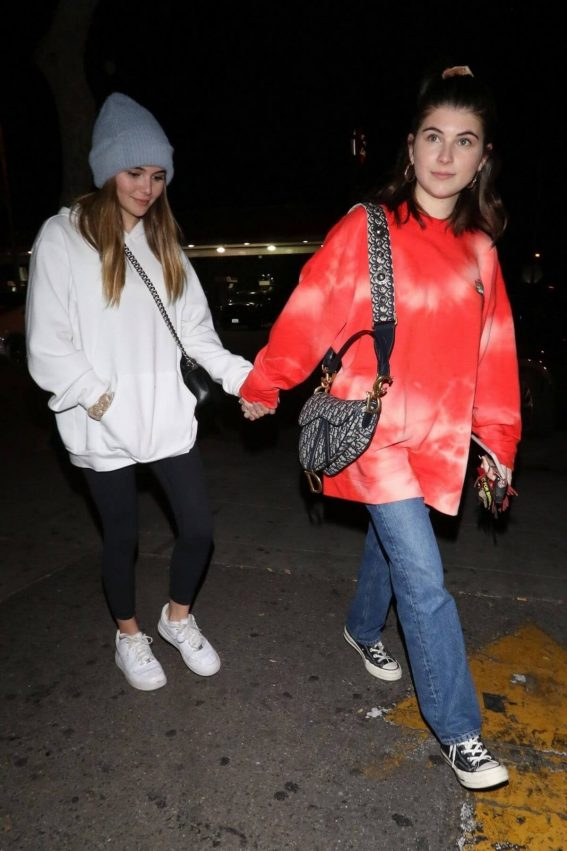 Isabella Rose and Olivia Jade at Delilah in West Hollywood 2018/12/29 1