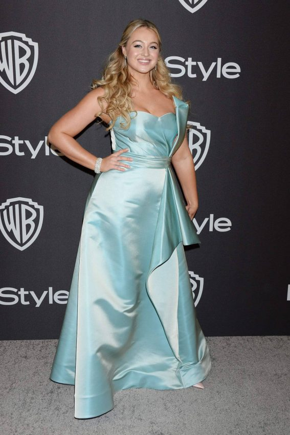 Iskra Lawrence at Instyle and Warner Bros Golden Globe Awards Afterparty in Beverly Hills 2018/01/06 1
