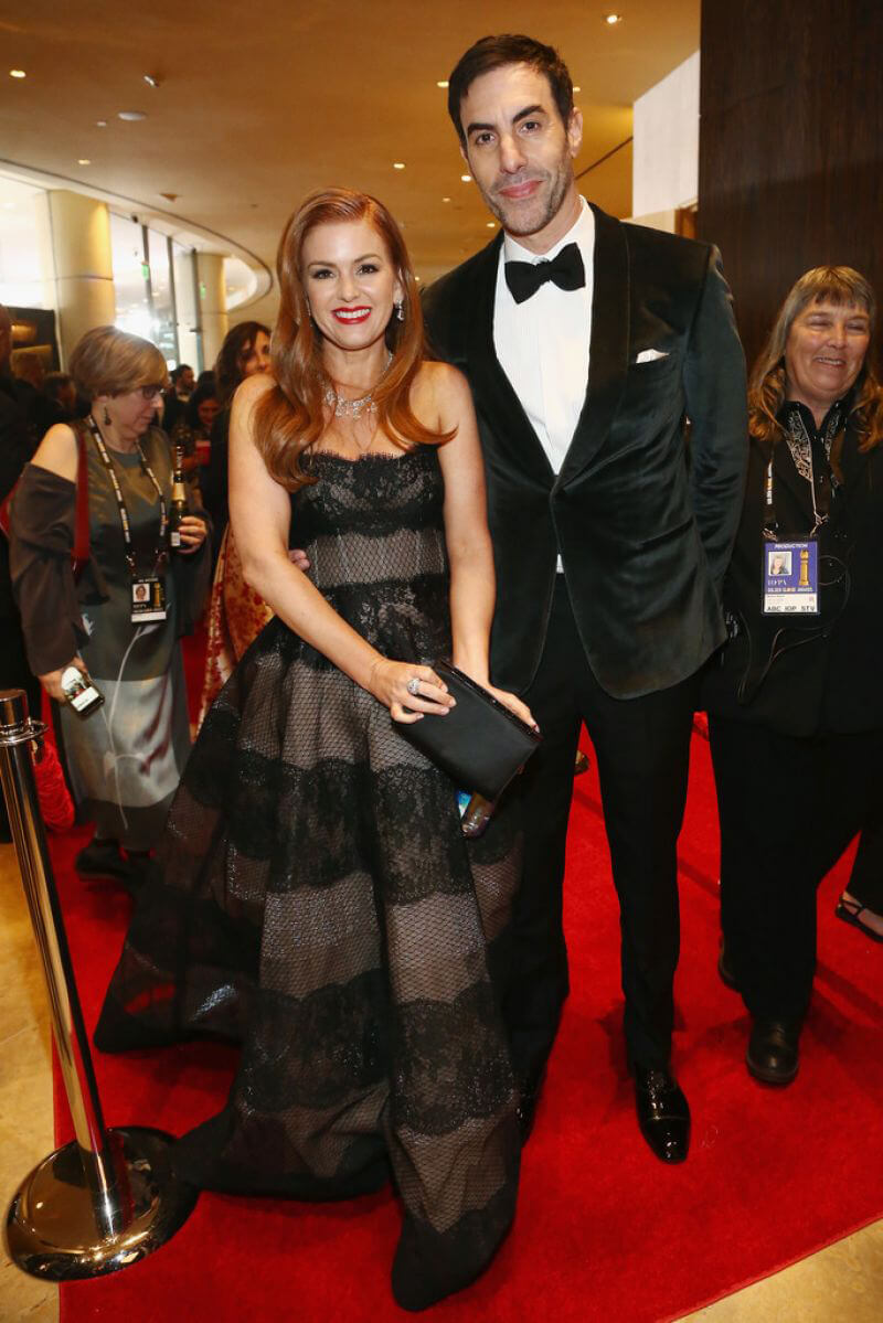 Isla Fisher at 2019 Golden Globe Awards in Beverly Hills 2019/01/06 1
