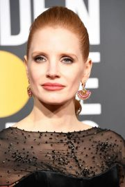 Jessica Chastain at 2019 Golden Globe Awards in Beverly Hills 2019/01/06 5