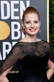 Jessica Chastain at 2019 Golden Globe Awards in Beverly Hills 2019/01/06 8