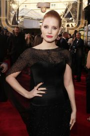 Jessica Chastain at 2019 Golden Globe Awards in Beverly Hills 2019/01/06 10