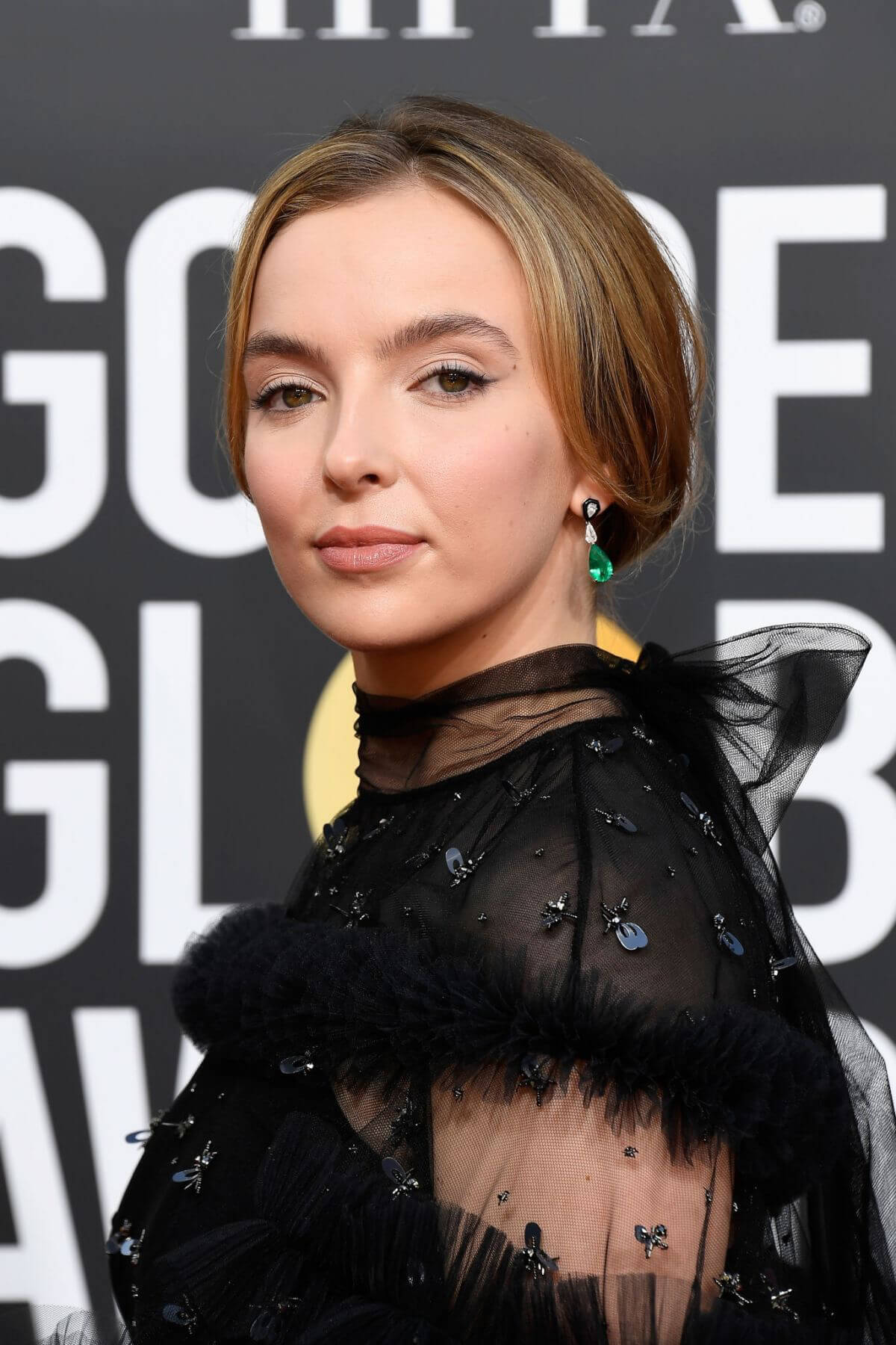 Jodie Comer at 2019 Golden Globe Awards in Beverly Hills 2019/01/06