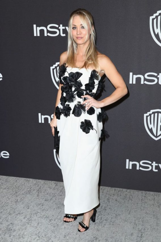 Kaley Cuoco at Instyle and Warner Bros Golden Globe Awards Afterparty in Beverly Hills 2019/01/06 1
