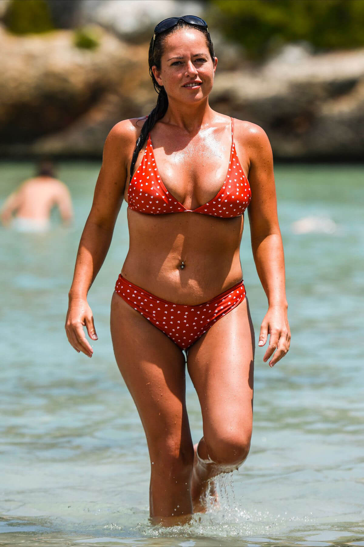 Karen Danczuk in Bikini at a Beach in Spain 2018/12/29 1