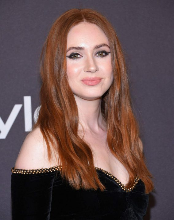 Karen Gillan at Instyle and Warner Bros Golden Globe Awards Afterparty in Beverly Hills 2019/01/06 1