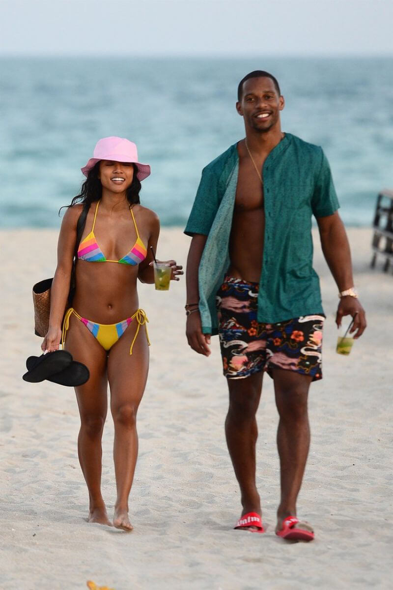 Karrueche Tran in Bikini at a Beach in Miami 2019/01/02 1