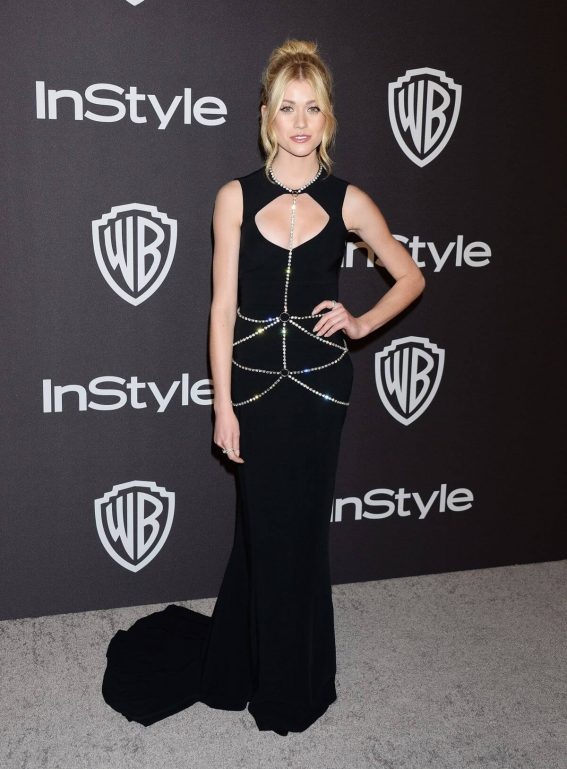Katherine McNamara at Instyle and Warner Bros Golden Globe Awards Afterparty in Beverly Hills 2019/01/06 1