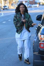 Kelly Rowland Out and About in Los Angeles 2019/01/01 2