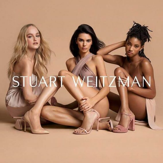 Kendall Jenner excited to be part of the Stuart Weitzman Spring 2019 campaign 1