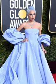 Lady Gaga at 2019 Golden Globe Awards in Beverly Hills 2019/01/06 16