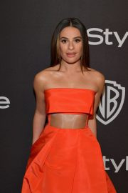 Lea Michele at Instyle and Warner Bros Golden Globe Awards Afterparty in Beverly Hills 2019/01/06 1