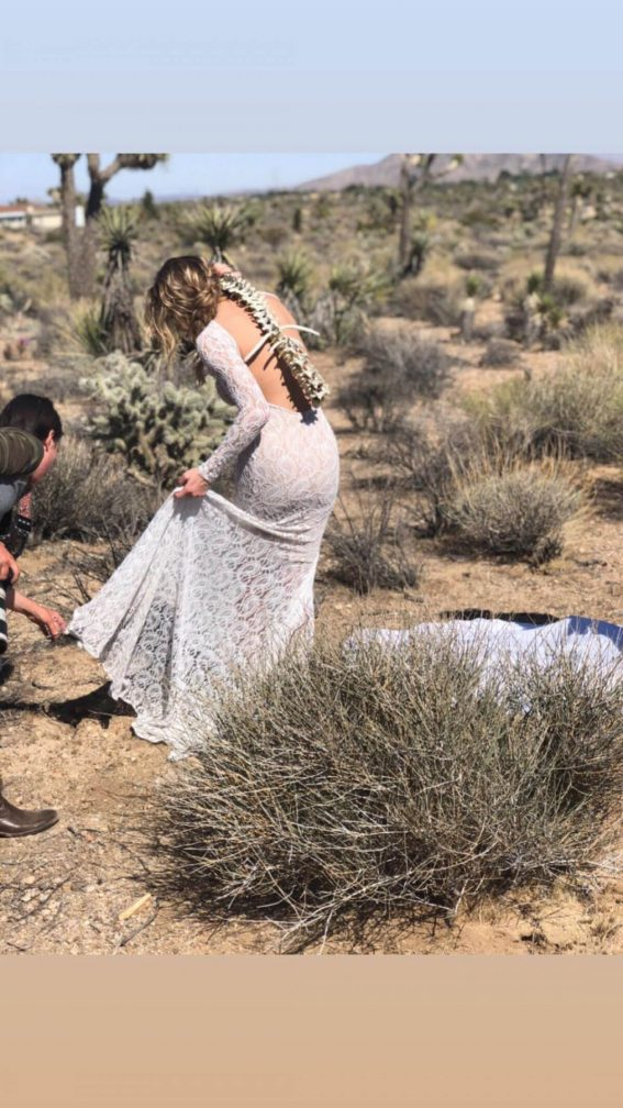 LeAnn Rimes on the Set of a Photoshoot on Instagram Pictures 2019 1