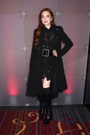 Lindsay Lohan at Marquis New Year's Eve in New York 2018/12/31 6