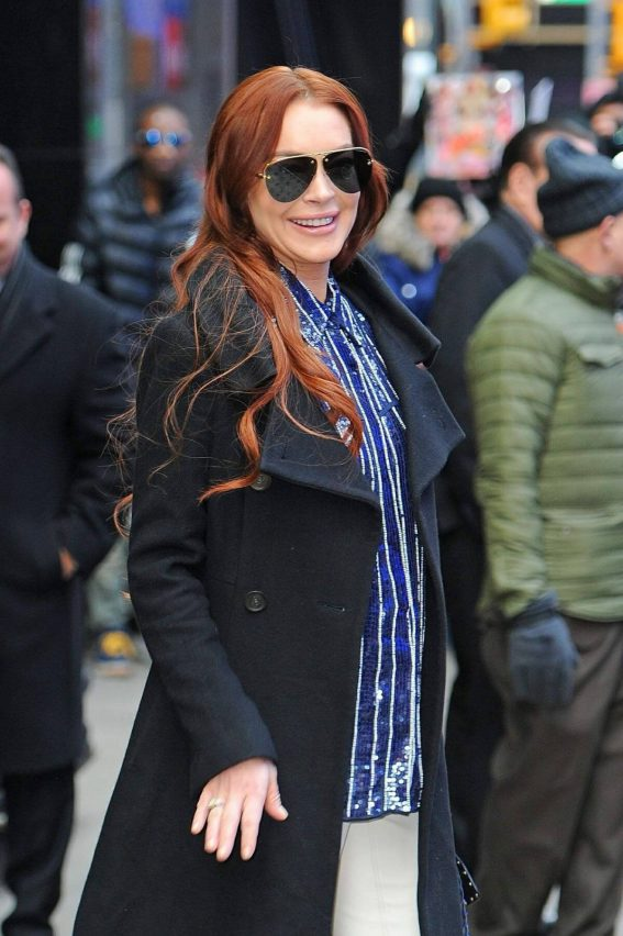 Lindsay Lohan Out and About in New York 2019/01/09 1