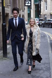 Lucy Fallon Arrives Tina O'Brien's Wedding Day in Manchester 2018/12/31 2