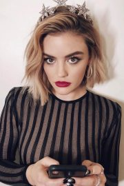 Lucy Hale at Rockin Eve 19 on Instagram Pictures 1