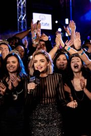 Lucy Hale at Rockin Eve 19 on Instagram Pictures 2