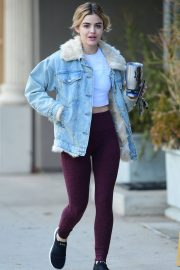Lucy Hale Heading to a Gym in Studio City 2019/01/05 8