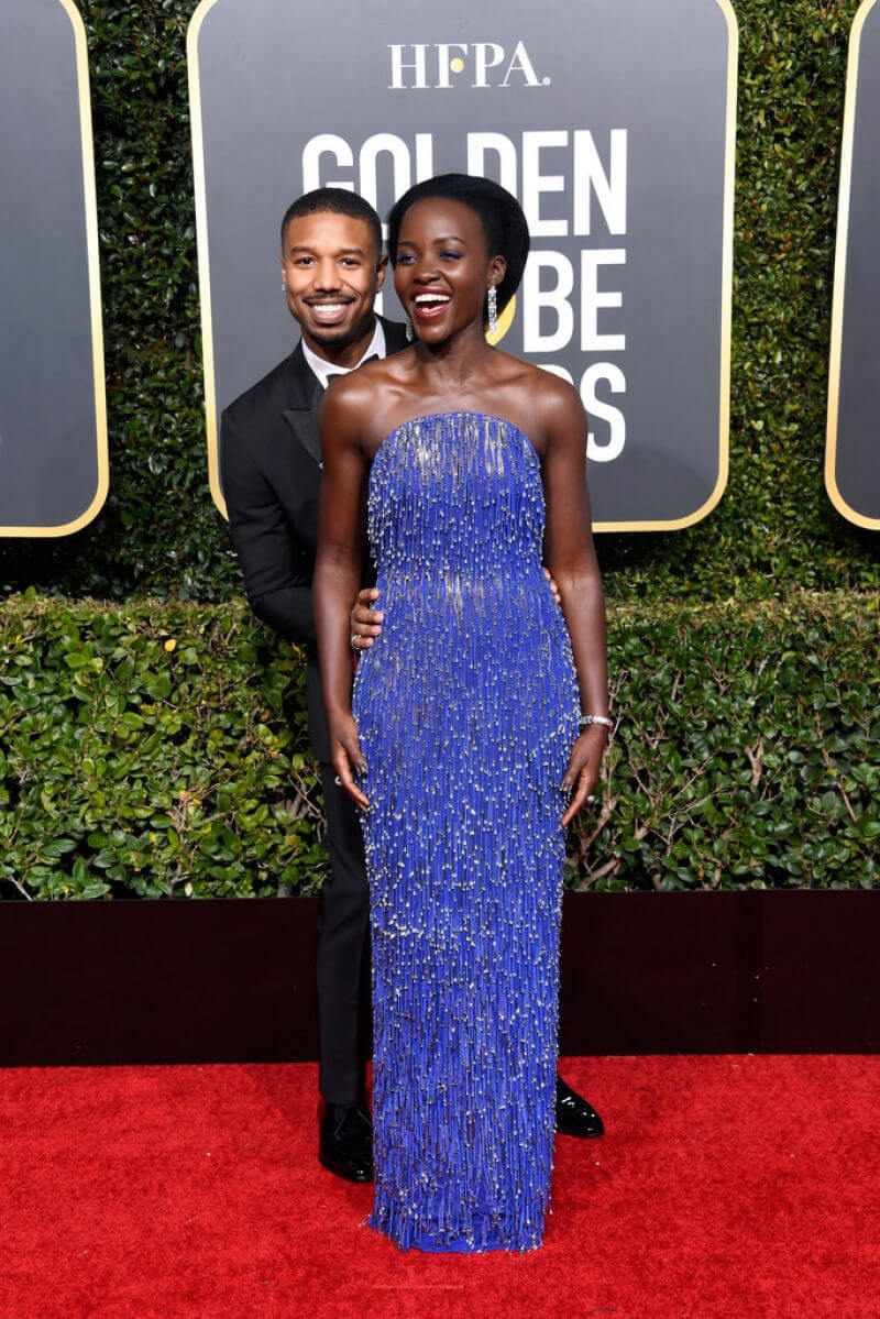 Lupita Nyong'o at 2019 Golden Globe Awards in Beverly Hills 2019/01/06 1